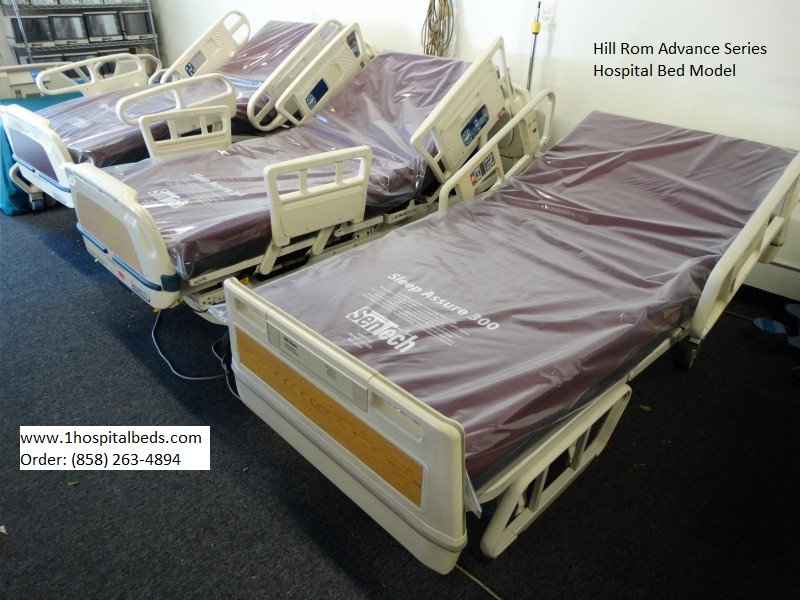Used Electric Hospital Beds for Sale by Hill-Rom and Stryker   Used ...