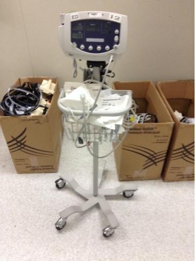 Endoscopy Room Equipment List: Welch Allyn 53000 Series Vital Sign Patient Monitors