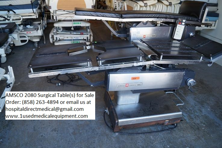Surgical Or Tables New Used And Refurbished Used
