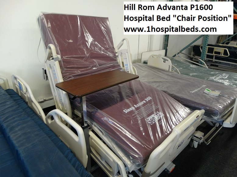 Hill Rom Advanta P1600 Hospital Bed Used Hospital