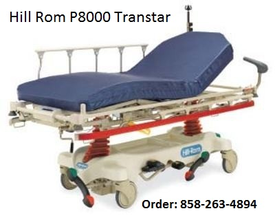 Hill Rom P8000 Transtar Er Procedural Stretcher Used
