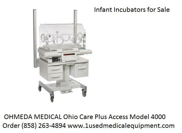 Ohmeda Care Plus 4000 Infant Incubator Used Hospital