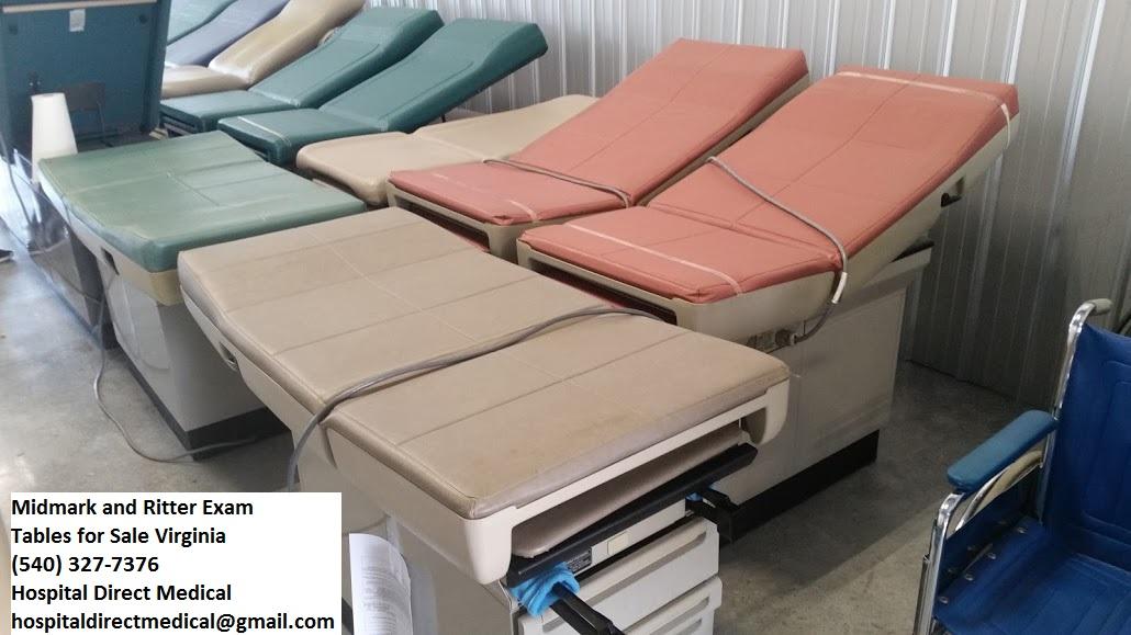 Midmark 404 Exam Table Used Hospital Medical Equipment