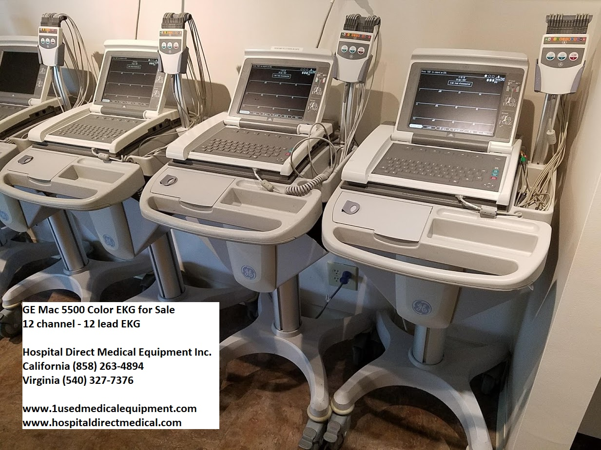 EKG / ECG Machines New Used and Refurbished | Used Hospital Medical