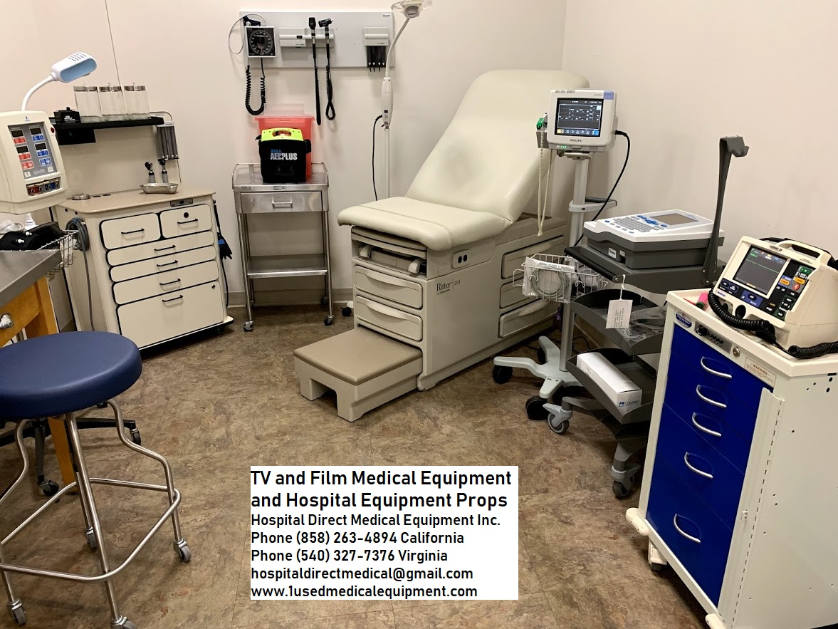 Hospital And Medical Equipment Props For Film Tv And